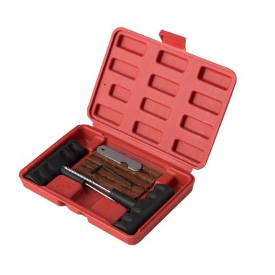 14pcs car tire repair kit with plastic box