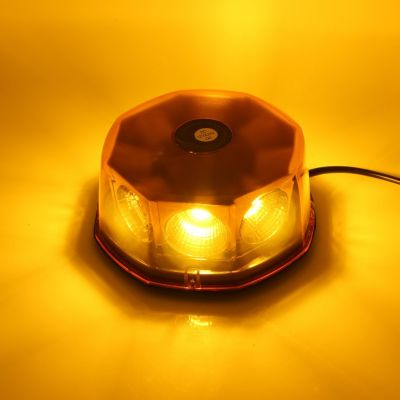40W-8-LED-Amber-Magnetic-Warning-Strobe