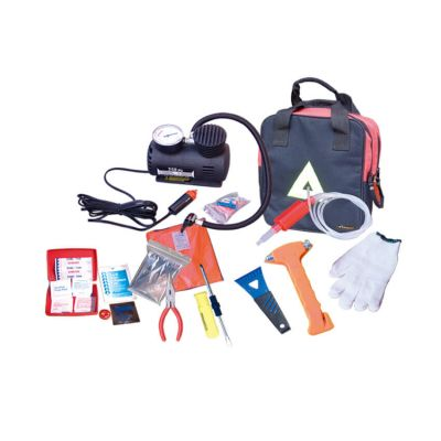 Professional supplier multifunctional travel first aid auto roadside emergency car kit