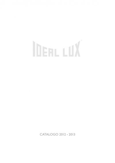 Catalogue Ideal Lux Lighting 2012 - 2013